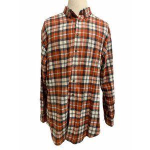 Croft & Barrow Long Sleeve Casual Flannel Shirt